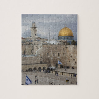 View of Western Wall Plaza, late afternoon Puzzle