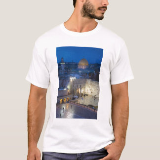 View of Western Wall Plaza, late evening T-Shirt