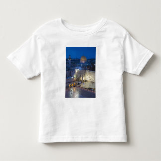 View of Western Wall Plaza, late evening Toddler T-Shirt