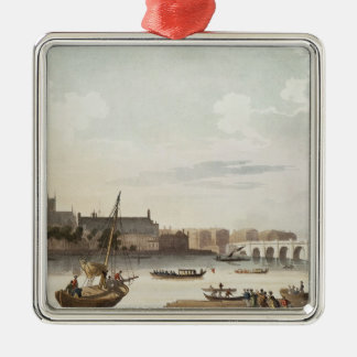 View of Westminster and the Bridge Christmas Ornament
