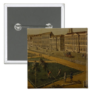 View of Wilhelmsplatz from the north, 1773 15 Cm Square Badge