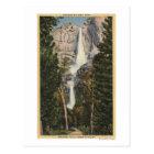 View of Yosemite Falls & Valley Postcard
