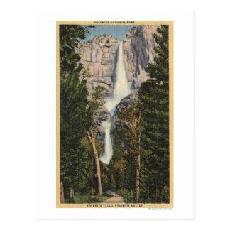 View of Yosemite Falls Valley Postcards