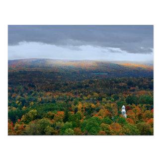 View on the Bennington Battle Monument Postcard
