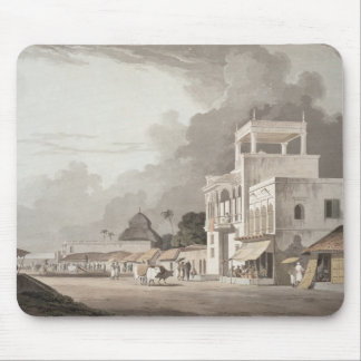 View on the Chitpore Road, Calcutta, plate II from Mouse Mat