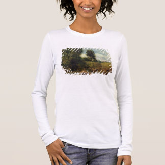 View on the River Sid, near Sidmouth, c.1852 (oil Long Sleeve T-Shirt