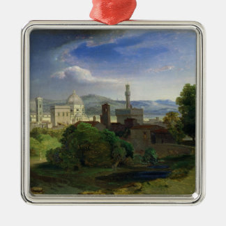 View over Florence, c.1829 Christmas Ornament