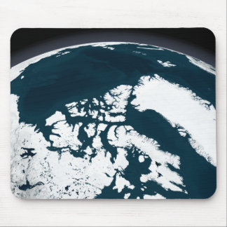 View over Greenland and the Arctic Ocean Mouse Mat