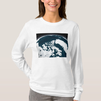 View over Greenland and the Arctic Ocean T-Shirt