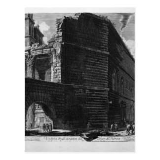 View the remains of the Forum of Nerva by Giovanni Postcard