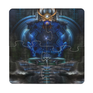 View To Eternity Coaster Puzzle Puzzle Coaster