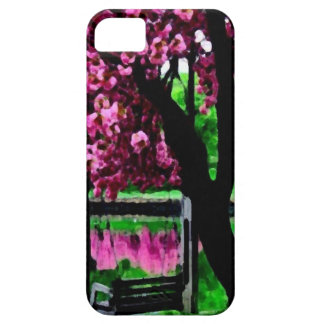 View to garden huile_iphone5 iPhone 5 case
