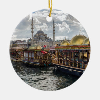 View to Istanbul (Turkey) Christmas Ornament