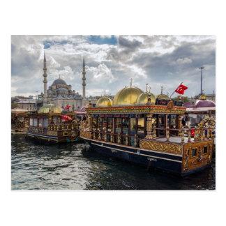 View to Istanbul (Turkey) Postcard