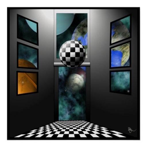 View to Surrealism Print