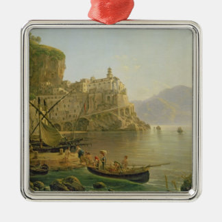View Towards Atrani on the Amalfi, 1817 Christmas Ornament