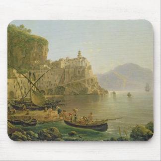 View Towards Atrani on the Amalfi, 1817 Mouse Mat