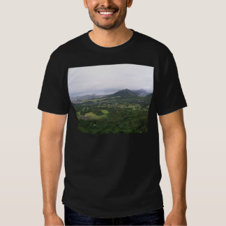 view towards k-bay from pali lookout t shirts