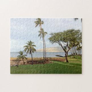 View towards Maalaea Bay from Kihei, Maui, Hawaii Jigsaw Puzzle