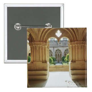 View towards the cloister from the Chapter 15 Cm Square Badge