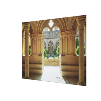 View towards the cloister from the Chapter Canvas Print