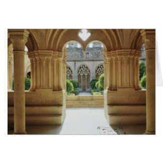 View towards the cloister from the Chapter Greeting Card