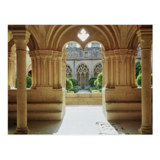View towards the cloister from the Chapter Postcard