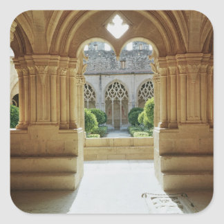 View towards the cloister from the Chapter Stickers