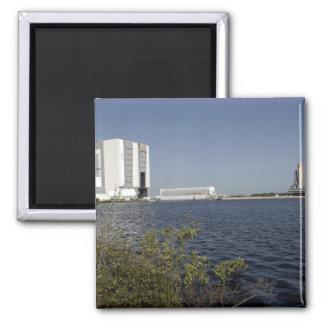 Viewed across the basin, Space Shuttle Atlantis Magnet