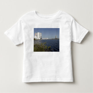 Viewed across the basin, Space Shuttle Atlantis Toddler T-Shirt