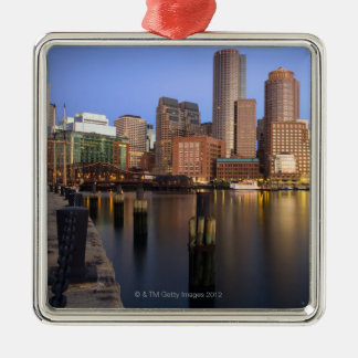 Viewed from Fan Pier at early sunrise Christmas Ornament