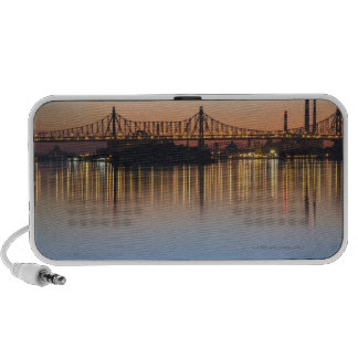 Viewed from Manhattan over the East River. Mp3 Speakers