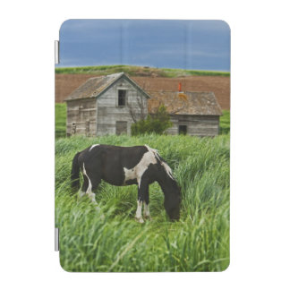 Viewing horses in a field in the Palouse 2 iPad Mini Cover