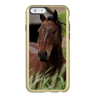 Viewing horses in a field in the Palouse Incipio Feather® Shine iPhone 6 Case