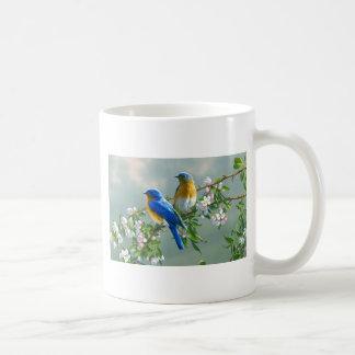 viewing-paintings-flowers-birds-animals-desktop-l- basic white mug