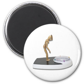ViewingBathroomScale072310 6 Cm Round Magnet
