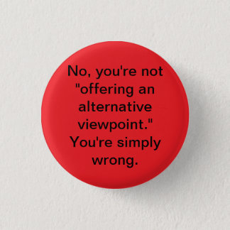 Viewpoints 3 Cm Round Badge