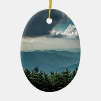 Views From Mount Mitchell Christmas Ornament