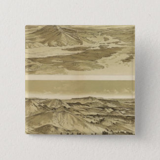 Views from Mount Trumbull and Mount Emma 15 Cm Square Badge