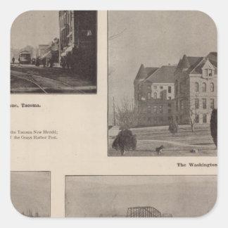 Views in Washington Square Sticker