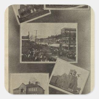 Views, La Grande, Oregon Square Sticker
