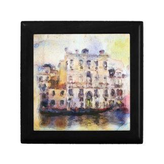 Views od Venice made in artistic watercolor Gift Box