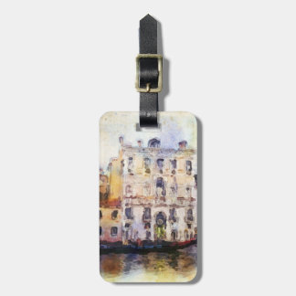Views od Venice made in artistic watercolor Luggage Tag