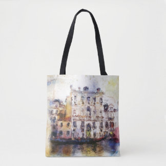Views od Venice made in artistic watercolor Tote Bag