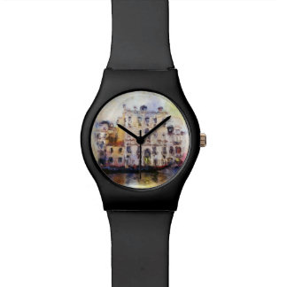Views od Venice made in artistic watercolor Watch