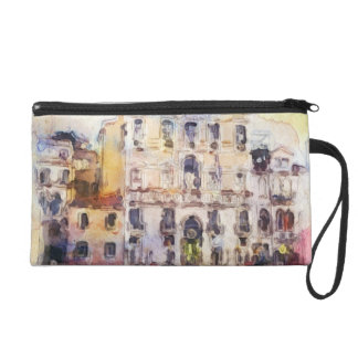 Views od Venice made in artistic watercolor Wristlet
