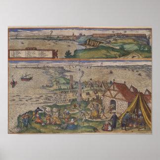 Views of Cadiz Poster