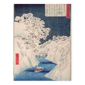 Views of Edo Postcard