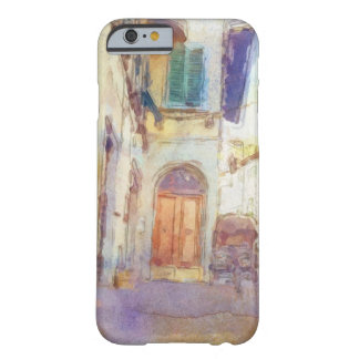 Views of Florence made in artistic watercolor Barely There iPhone 6 Case