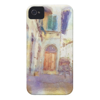 Views of Florence made in artistic watercolor Case-Mate iPhone 4 Case
